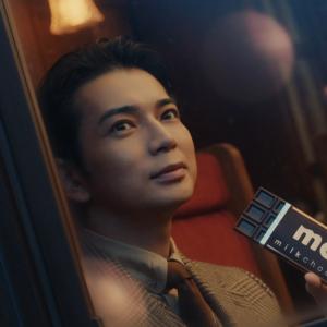 松本潤がCM出演10年目で「明治チョコレートのテーマ」を初歌唱! クリスマスの思い出は「相葉くんの誕生日」