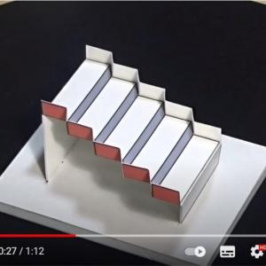 アメリカの錯視コンテストで明大・杉原厚吉さんの「立体版シュレーダー階段図形」が優勝