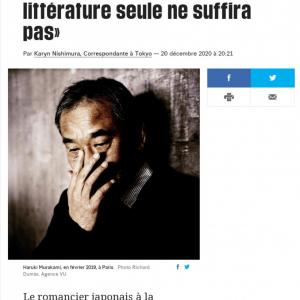 「風評被害では?」 朝日新聞『村上春樹氏「日本の首相、批判に批判投げ返す』記事に仏紙特派員「見出しは正しくない」と抗議