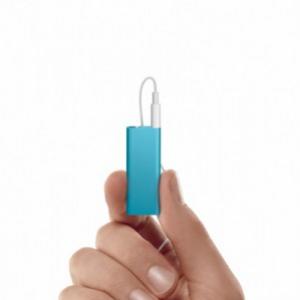 新しい『iPod shuffle』は5800円から! 美しい5色でカラフルに展開