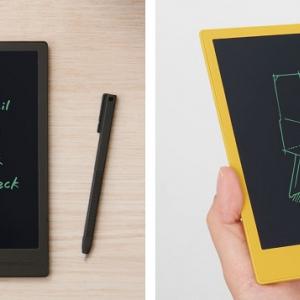「Boogie Board」にコンパクトなA6手帳サイズの「BB-14」が登場 書き込んだ内容をスマホに画像で保存できるスキャンアプリもリリース