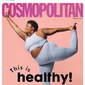 イギリス版『COSMOPOLITAN』最新号の表紙に注目が集まる 「雑誌を売るためならなんでもするんだよ」