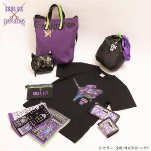 エヴァンゲリオン×ANNA SUIの初コラボコレクション誕生!Tシャツやバッグなど優雅でゴシックな全12アイテム