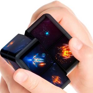 8コのキューブにタッチディスプレイを搭載したキューブパズル的ゲーム機「WOWCube」がCES 2021に出展 事前予約受付を開始