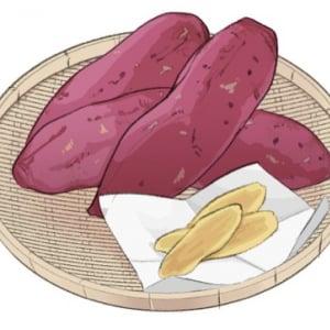 干しいもとさつまいもの栄養の違いと、干しいものおいしい食べ方