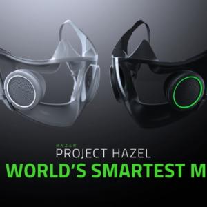 """Razerが""""スマーテストマスク""""のコンセプトモデル「Project Hazel」を発表 マイクや換気装置を搭載"""