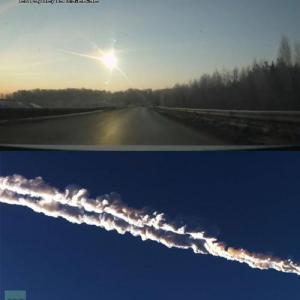 ロシアに隕石落下400名以上が負傷 隕石落下直前を捉えるドライブレコーダーなど数々(動画)