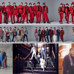 EXILE、三代⽬JSB、E-girlsらLDH所属アーティスト8組による豪華3公演をWOWOWで放送!