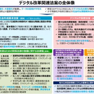 デジタル改革関連法案通常国会に提出へ 平井卓也大臣「デジタル庁がデータのオーソリティーになる」