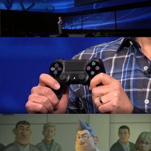 『PlayStation Meeting 2013』で『PlayStation 4』発表 デュアルショック4 本体スリープ機能など