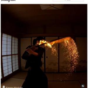 炎刀の動画に興奮するアニメ好きな外国人たち 「リアル『鬼滅の刃』じゃん」「煉獄がいた」