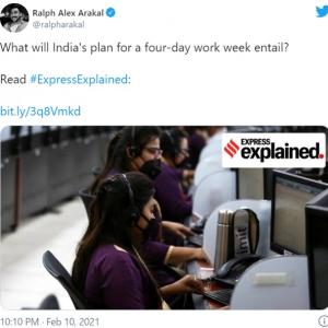 週48時間勤務のまま週休3日制の実現を目指すインド 「長時間労働も長時間通勤も生産性は低い」「労働時間を減らさないなら、ゾンビみたいな労働者が減ることはないよ」
