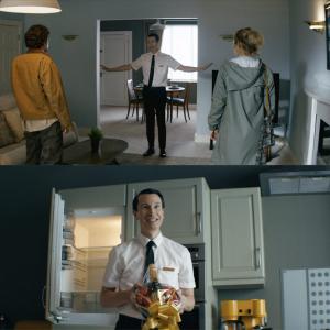 """ようこそ""""本物の理想の家""""へ。 スリラー映画『ビバリウム』不気味な内見シーンを切り取った本編映像"""