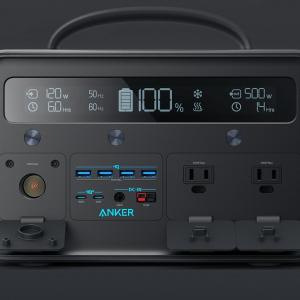 Ankerがシリーズ中で最もパワフルなポータブル電源「PowerHouse II 800」を発売 216000mAh容量で11台同時に充電・給電可能