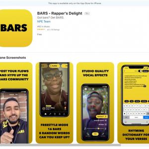 Facebookがラップにフォーカスした動画投稿アプリ「BARS」を米AppStoreでリリース 「TikTokのライト版?」「Androidユーザーのほうが圧倒的に多いのにiOS限定」