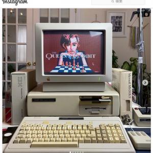 もし『クイーンズ・ギャンビット』が1980年代のMS-DOSゲームだったら
