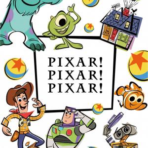ピクサーアニメの展示を楽しみながら買い物できる日本オリジナルイベント『PIXAR! PIXAR! PIXAR!』4月より日本各地で開催!