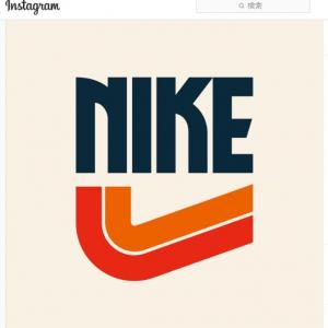 1970~1980年代の昭和っぽいタッチで描かれた有名ブランドのロゴ