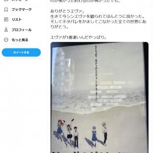 「シン・エヴァ」を観た中川翔子さん「全ての人類は義務教育で強制的に14歳になったらエヴァを観る、でいいんじゃないかな」ツイートに反響