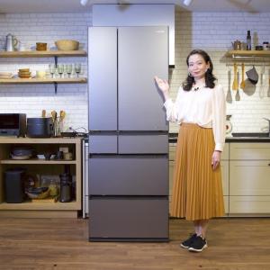 冷蔵庫の中身がスマホでわかるように! パナソニックの最新冷蔵庫の進化がすごい