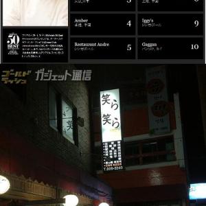 「アジアのベストレストラン50」に韓国料理店が1つも入っていない! 類似店は審査対象外?