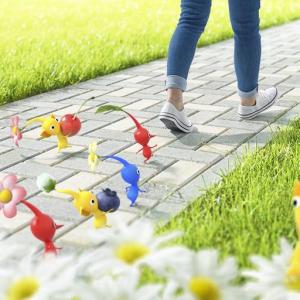"""Nianticと任天堂の共同開発! ピクミンを起用した""""歩くことを楽しくする""""新作アプリ"""