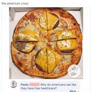 他国のイタリア料理に対するイタリア人のコメントを紹介するTwitterアカウント 「アメリカ人ってなんで医療費が無料みたいな食生活するんだろう」