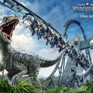 ユニバーサル・オーランド・リゾートのジェットコースター「Jurassic World VelociCoaster」は6月10日オープン 「VIPツアーの予約しないと」「6月が待ちきれない」