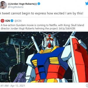 Netflixが実写映画『機動戦士ガンダム』を配信することを発表 「これ以上アニメの実写化で大失敗しないでくれ」「アメリカ人監督とか中国資本の映画会社じゃなくて日本人に任せたほうがいいと思うよ」
