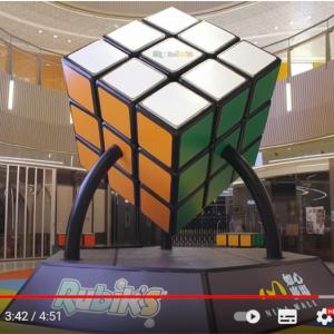 「最も大きいルービックキューブ(Largest Rubik's Cube)」というギネス世界記録が更新される 「キングコング用のルービックキューブ?」「知力だけでなく体力も要求される」