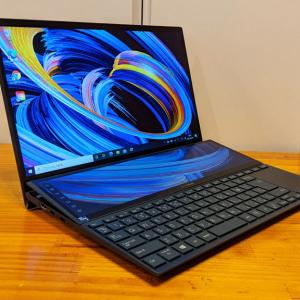 薄型・軽量の14インチノートにセカンドディスプレイを搭載する「ASUS ZenBook Duo UX482」レビュー