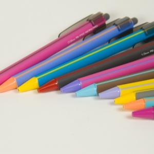 「鉛筆シャープ」クリップ付き限定カラー(コクヨ)フォトレビュー