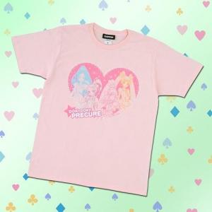 Tシャツを重ねて愛をふりまいちゃう?『プリキュア』シリーズレディースアパレルが侮りがたし!
