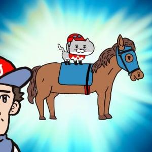 声優・大塚明夫もあまりの可愛さに暴走?! 四足歩行on四足歩行の姿に思わず癒されるアニメ『猫ジョッキー』