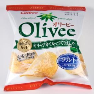Olivee(オリービー)ソルト(カルビー)フォトレビュー
