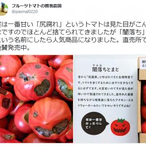 厨二心くすぐる!? 見た目コワいけど甘い「闇落ちトマト」が話題 「キラートマトかな?」