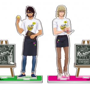 カフェ店員のタイガー&バーナビーと会話できる!?「T&B Lemonade Stand」タイバニ10周年イベントがナンジャタウンで6月より開催