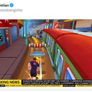 なにかとネット上でいじられてしまうイギリスのマシュー・ハンコック保健大臣 「腹筋が痛くてたまらん」「Twitterって最高だね」
