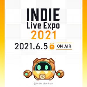 6月5日放送のインディーゲーム情報発信番組「INDIE Live Expo 2021」 出演者や番組内容の情報が公開