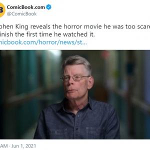 「ホラーの帝王」スティーヴン・キングが怖すぎて最後まで観ることができなかったホラー映画って?