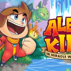 アレックスキッドが令和に復活! 『Alex Kidd in Miracle World DX』発売