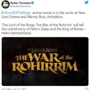 『指輪物語』原作のアニメ映画『The Lord of the Rings: The War of the Rohirrim』が発表 監督を務めるのは神山健治さん