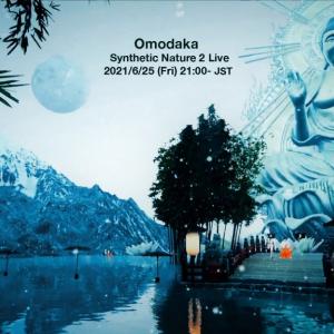 6月25日21時から! Omodakaが仮想空間に舞う無料配信ライブ第2弾