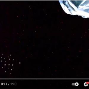 「UFO艦隊だ」「ただ単に宇宙ゴミでしょ」 国際宇宙ステーションからのライブ配信映像に注目集まる