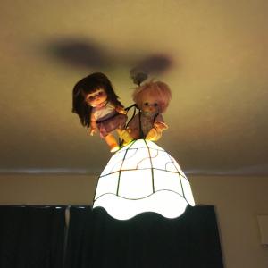 ホラー感がハンパない!妖精がこっそり住み着いているようなかわいい部屋にしようとしたのに・・・