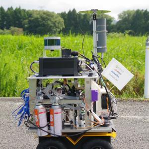 カセットボンベを燃料に使う自律ロボットをダイニチ工業が開発 リチウムイオンバッテリーと比べて長時間の駆動が可能に