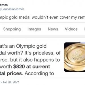 東京オリンピックの金メダルの価値は? 「車の修理代を払うには金メダルが7個必要」「選手にとってはプライスレス」