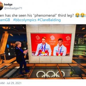 金メダリストに対するBBCスポーツキャスターのコメントが下ネタと勘違いされる事案が発生 「奇跡のダブルミーニング」「彼女のコメントのほうがニュース速報だわ」