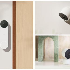 屋内・屋外で使えるスマートカメラとビデオドアホン 「Google Nest」ブランドのスマートホーム機器3製品を発表