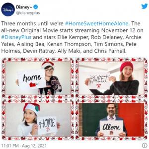 『ホーム・アローン』シリーズの新作映画『Home Sweet Home Alone』は11月12日配信開始